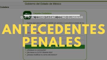 Trámites de antecedentes penales en México