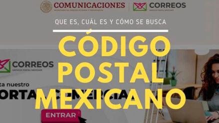 Trámites del código postal mexicano