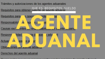 Agente aduanal