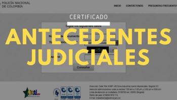 Certificado de antecedentes judiciales en Colombia