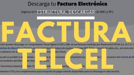 Factura Telcel