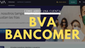 Abrir una cuenta en BBVA Bancomer