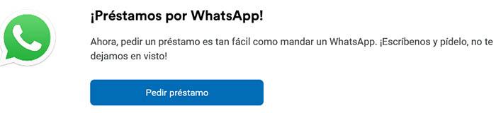 Solicitar crédito Coppel a través de Whatsapp