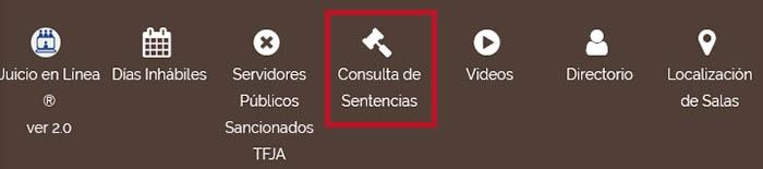 Consulta de sentencias para averiguar el número de expediente judicial