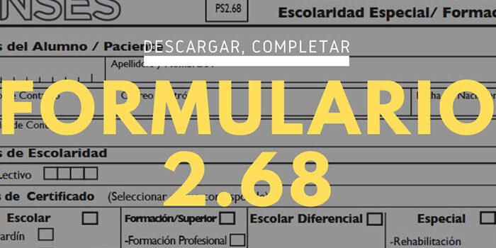 Formulario 2.68
