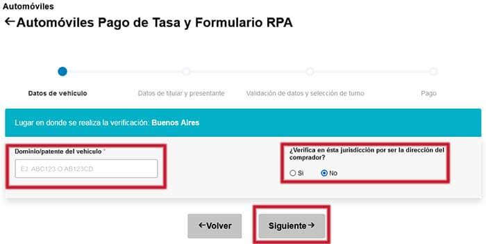 Introducir datos del formulario 12