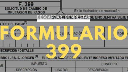 Formulario 399
