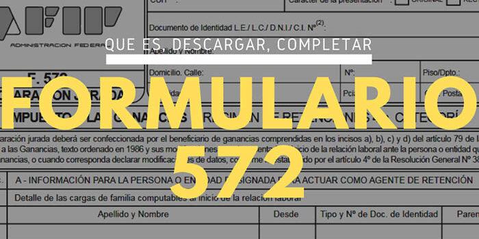Formulario 572