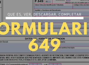 Descargar el formulario 649