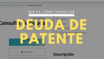 Deuda de patente