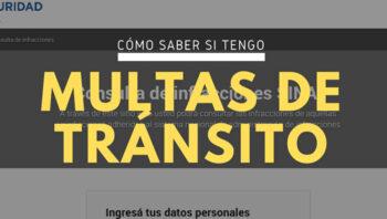 Multas de tránsito en Argentina